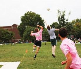 shot line challenge in nashball